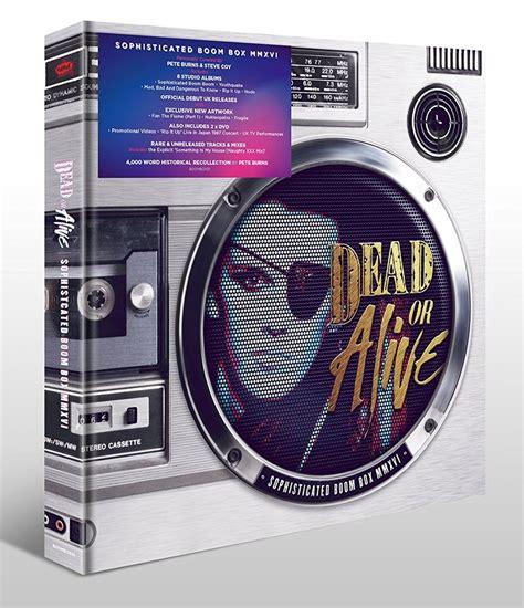Dead Or Alive 19disc Career Box Set Sophisticated Boom