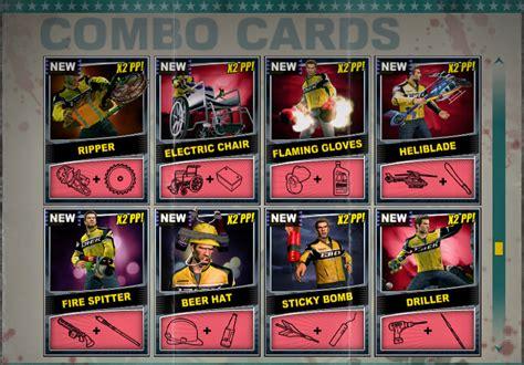 Dead Rising 2 Assault Rifle Combo Card