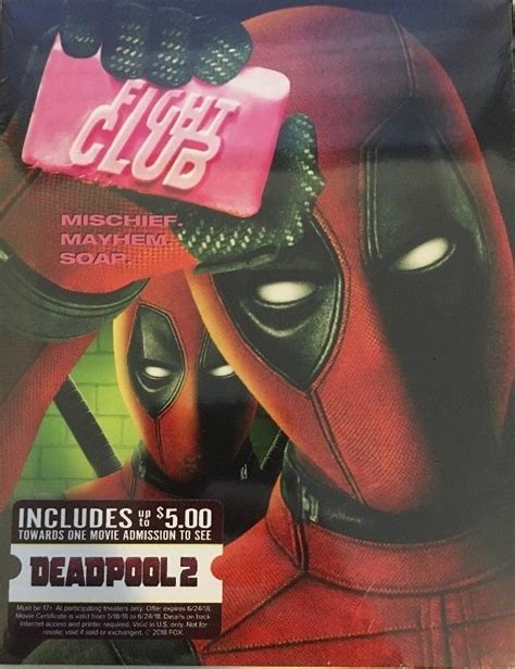 Deadpool Fight Club Dvd