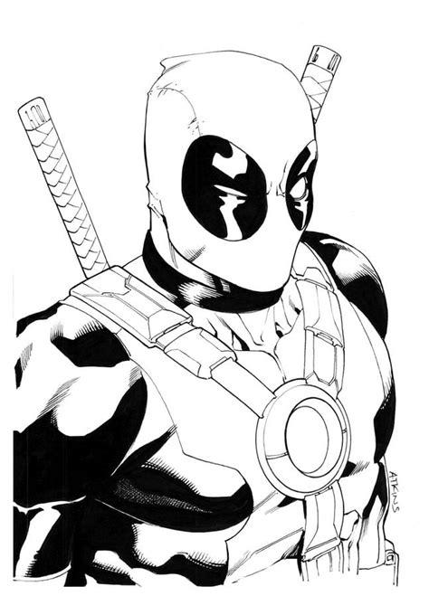 Deadpool Malvorlage Kostenlos