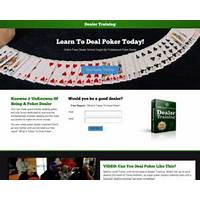 Deal poker at casino standards & make money technique