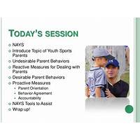 Guide to dealing successfully with sports parents