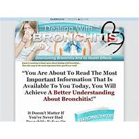 Dealing with bronchitis, overcoming bronchitis and its health effects promo codes