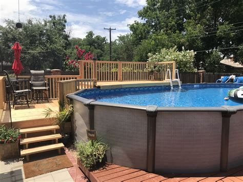 deck for above ground pool plans.aspx Image