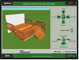 Deck design and estimator Image
