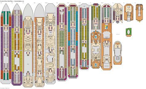 Deck plan carnival glory Image