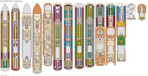 Deck plan carnival magic Image
