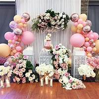 Decorar fiestas con globos telas flores luces creatividad arte empresa secret code