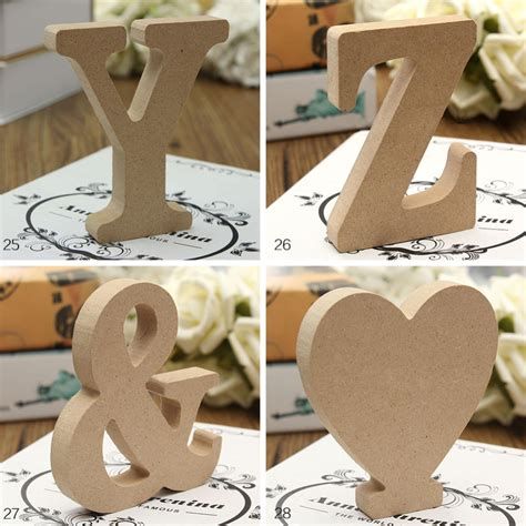 Decorate wooden letters Image