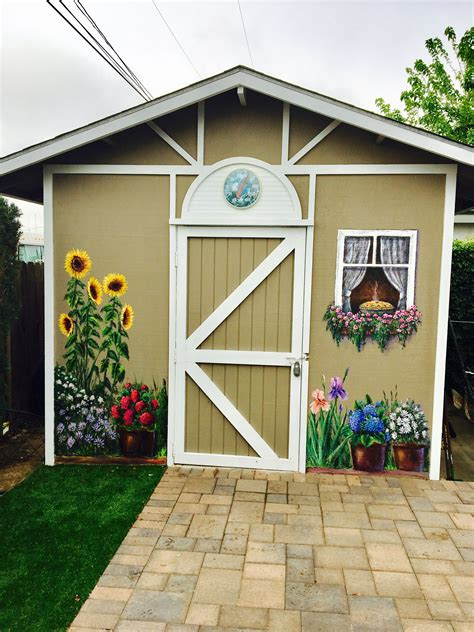 Decorative garden sheds Image
