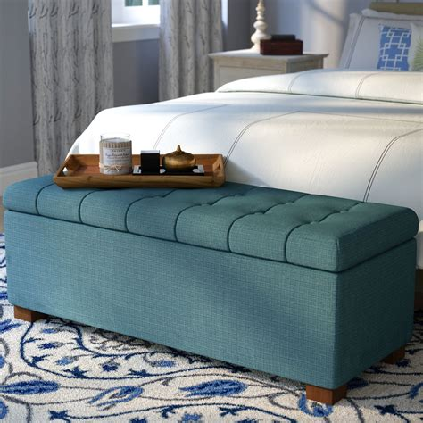 Decorative Storage Benches For Bedroom Image