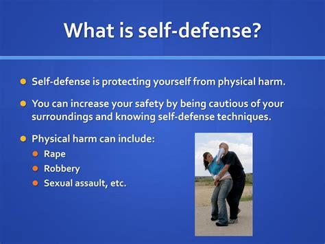 Define Perfect Self Defense