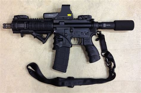 Define Short Barreled Rifle And Encore Pistol Barrel On Rifle Frame
