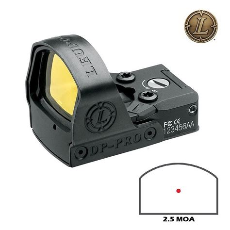 Deltapoint Pro 2 5 Vs 7 5 Moa And Mag243 Blk