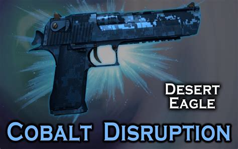Desert-Eagle Desert Eagle Cobalt Disruption Stattrak.
