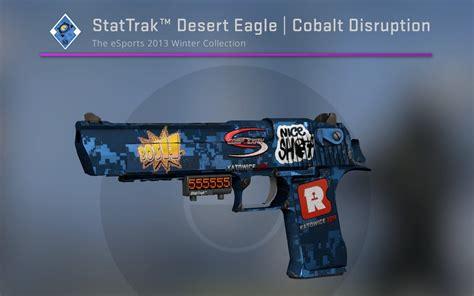 Desert-Eagle Desert Eagle Cobalt Disruption Stickers.