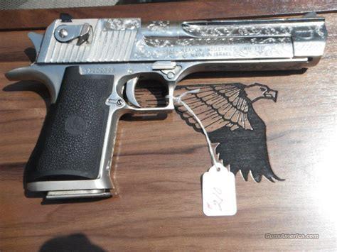 Desert-Eagle Desert Eagle Pistol Engraved