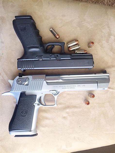 Desert-Eagle Desert Eagle Vs Glock.