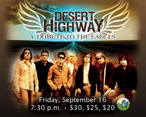 Desert-Eagle Desert Highway Eagles Tribute Band.
