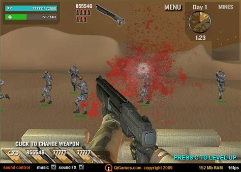 Desert Rifle Game