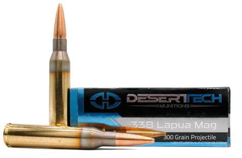 Desert Tech 338 Lapua Ammo
