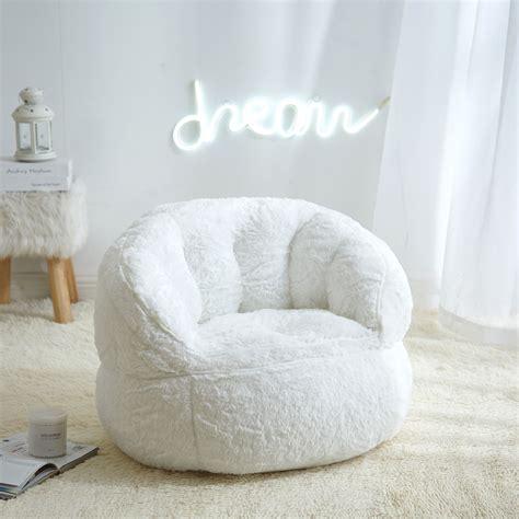 Design For Faux Fur Bean Bag Chair Ideas
