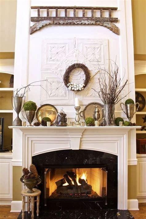 Design For Fireplace Mantle Decor Ideas
