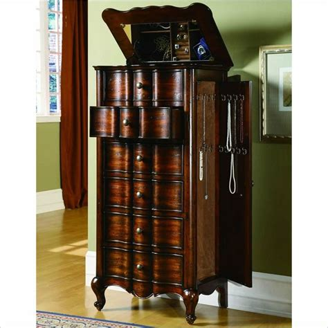 Design For Jewelry Armoire With Lock Ideas