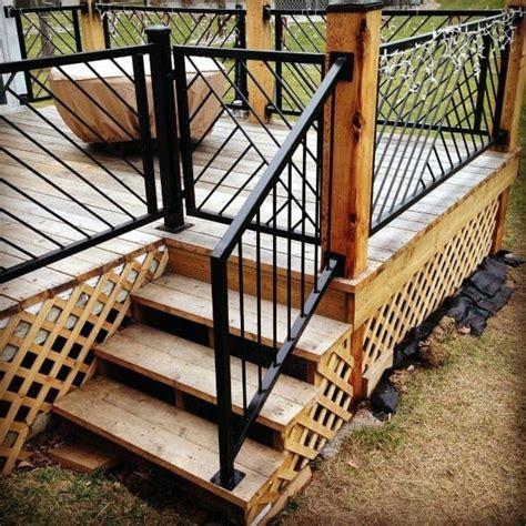 Design For Metal Deck Railings Ideas