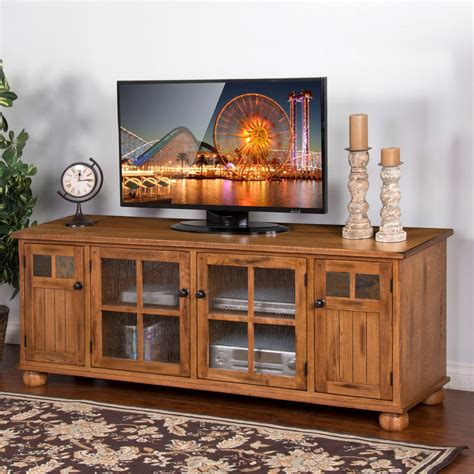 Design For Oak Tv Console Ideas