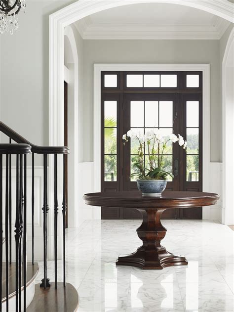Design For Round Foyer Tables Ideas