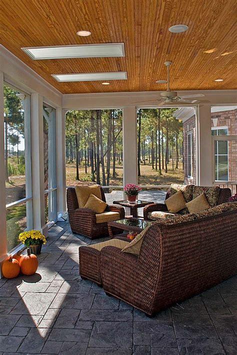 Design For Screened Porch Furniture Ideas