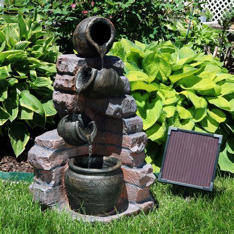 Design For Solar Power Water Fountain Ideas