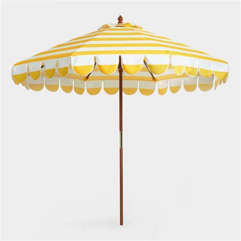 Design For Striped Patio Umbrella Ideas