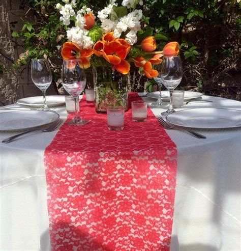 Design Ideas Coral Table Runners