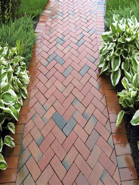 Design Ideas For Brick Walkways