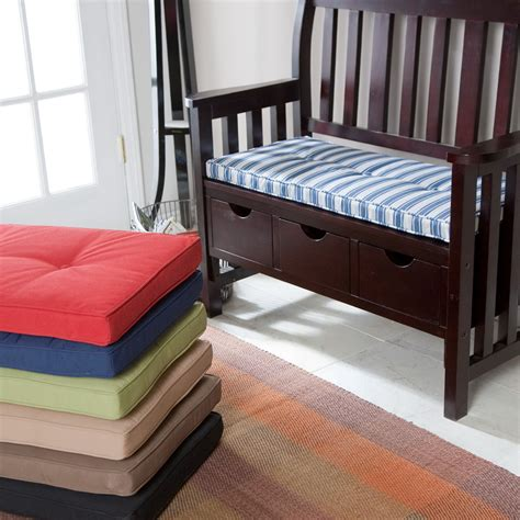 Design Ideas For Cushioned Bench