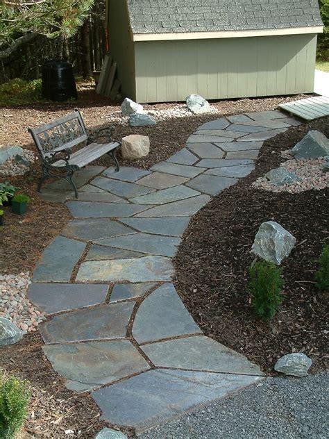 Design Ideas For Flagstone Walkways
