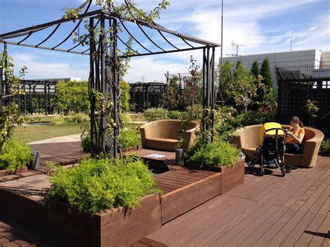 Design Rooftop Garden Ideas