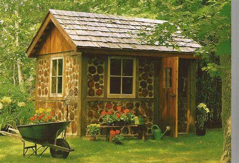 Designer garden shed Image