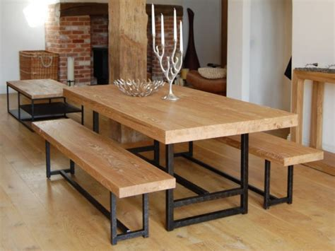 Designs for dining tables in wood Image