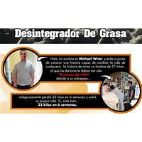 Desintegrador de grasa weightdestroyer in spanish inexpensive