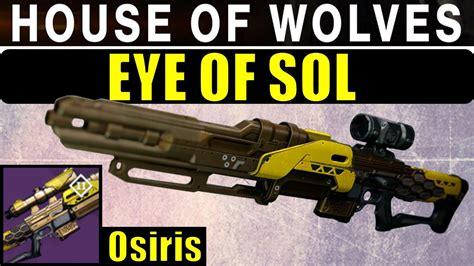 Destiny 1 Trials Sniper Rifles