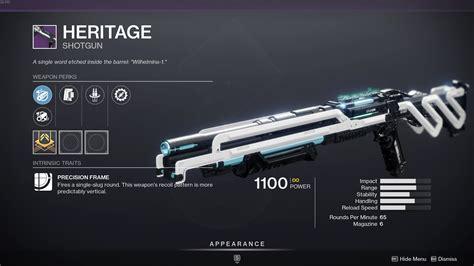 Destiny 2 Do Shotguns Classified As Rifles