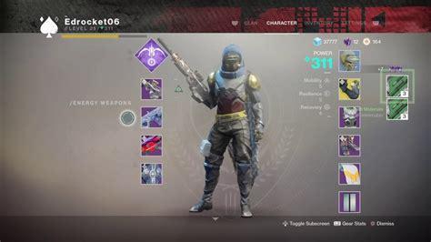 Destiny 2 Gunsmith Glitched