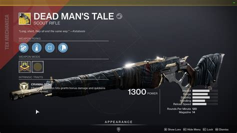 Destiny 2 How To Get Exotic Assault Rifle