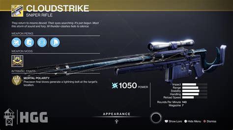 Destiny 2 Sniper Rifle Guide