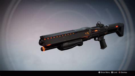 Destiny Exotic Shotgun Invective