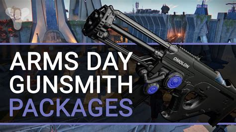 Destiny Gunsmith Packages Gone
