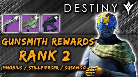 Destiny Gunsmith Rank 2